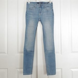 Hollister Low Rise Super Skinny Jean Nwt